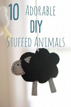 10 Adorable Stuffed Animals You Can DIY