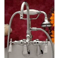 Strom Plumbing English Telephone Clawfoot Tub Faucet | Bathroom ...