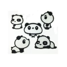 Panda Animal Patches Cartoon Patches Personalized Gifts Patch Embroidered Patches Iron On Patch Sew On Patch Embroidery monogram sewing badges applique patch sew on wholesale patchwork quilt sew on patch iron on patch bear panda patch Cool Patches, Sew On Patches, Iron On Patches, Personalized Gifts, Handmade Gifts, Embroidery Monogram, Applique, Etsy Seller, Cartoon