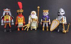 x5 english Playmobil Knights Guards Figures New 2016 Rare Viking Set Romans 15 #PLAYMOBIL