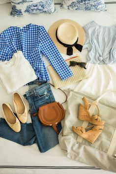 Packing For Wine Country (Gal Meets Glam) Spring Summer Fashion, Autumn Fashion, Women's Fashion, Spring Style, Preppy Style, My Style, Classic Style, Summer Outfits, Cute Outfits
