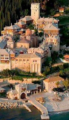 Athonite Monastery of Dochiariou, Agion Oros, Greece