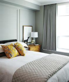 Traditional Condo Bedroom | photo Angus Fergusson | stylist Joel Bray | House & Home