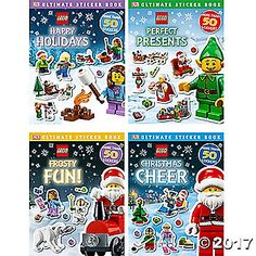 You won't find these books anywhere else! This set of four seasonal LEGO sticker books is the ultimate gift for LEGO lovers with bins of building ...