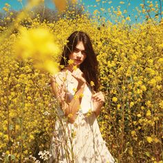 Be a modern-day flower child in the pretty, ethereal new Wilfred collection.