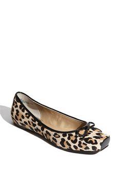 leopard print flats.  Pretty fabulous for non-heels :)