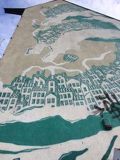 M-City in Sopot By Mariusz Waras #mural #streetart #contemporaryart #trafficdesignfest #Gdynia