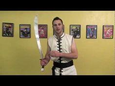 Kung Fu Single Sword Spinning - Upward Flower Tutorial - YouTube