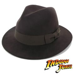 "Indiana Jones Hat ""Crushable Indy"" - Wool Felt Safari Hat this ones 38 and crushable?"