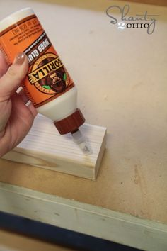 Gorilla Wood Glue for Floating Shelves Diy Swimming Pool, Coffee Bar Home, Woodworking Garage, Floating Shelves Diy, Wood Glue, Nutella, Wood Projects, Farmhouse Decor