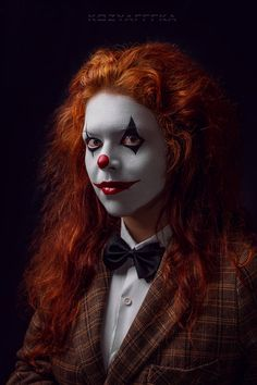 Kot post-production: kozyafffka model & make art: Asteria May Clown Creepy Circus, Circus Art, Circus Clown, Creepy Clown, Good Clowns, Send In The Clowns, Clown Images, Circus Characters, Carnival Photography