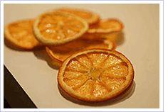 Drying technique of orange slices