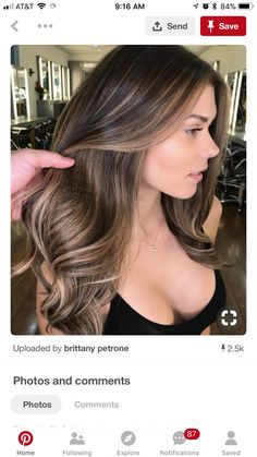 62 Brilliant Brunette Balayage Hair Color Trends for 2018 - . - 62 Brilliant Brunette Balayage Hair Color Trends for 2018 – - Hair Color Highlights, Ombre Hair Color, Hair Color Balayage, Cool Hair Color, Medium Brown Hair With Highlights, Fall Balayage, Hair Color Brunette, Hair Color 2018, Brunette Blonde Highlights