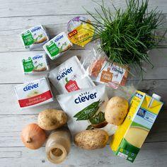 Bryndzová polievka - demikát so slaninkou - BILLA kulinarium Stuffed Mushrooms, Keto, Vegetables, Food, Red Peppers, Stuff Mushrooms, Essen, Vegetable Recipes, Meals