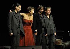 Concierto en L'Auditori de Barcelona con Pablo Logiovine, Manu Estoa y Horacio Fumero. Fotografía Martín Marco