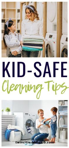 Twin Cities Kids Club Blogs: Kid-Safe Cleaning Tips - Many parents are always on the lookout for kid-safe cleaning products. They want cleaning supplies that will not harm their kids, while still getting the job done. Twin Cities Kids Club has a list of kid-safe cleaning products that you can incorporate into your cleaning routine. | Cleaning Tips | Kids Activities | Kids Crafts | Safe Cleaning Tips | Kids