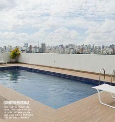 A private paradise in the city. #decor #interior #design #pool #balcony #casadevalentina