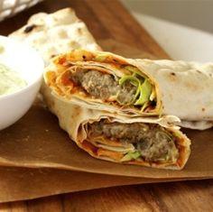 Sweet Potato Tahini Burgers | menjar | Pinterest | Tahini, Burgers and ...