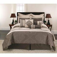 -10pc Comforter Set - Pascale