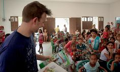 A man at an Operation Christmas Child shoebox distribution witnesses how God works through unplanned events. Click to read.