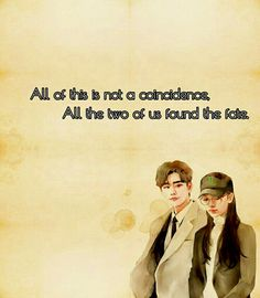 While you were sleeping. Korean Drama Quotes, Sleep Quotes, While You Were Sleeping, Lee Jong, Powerful Quotes, Coincidences, Drama Movies, Cute Drawings, Korean Actors