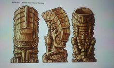 Awesome Alien Tiki mug!
