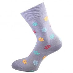 14a77c37a79 HJ Hall Lilac Floral Patterned Women s Socks from Ties Planet UK Women s  Socks