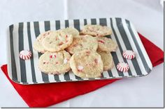 sugar candy cane cookies