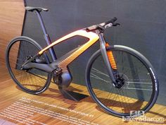 As you can guess from its appearance, the eDL 132 is designed to be a fast e-bike