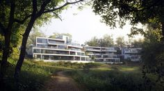 Crow Hill by Tamas Medve | Architecture | 3D | CGSociety