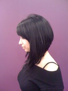 It has bangs, short back, and really long front.  Exactly the cut I want.