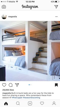 Bunk room for kids? Built in? Or NOT so that we can pull out bunks?