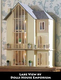 Dream Dollhouses: Dollhouse - Art Deco