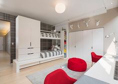Meatpacking Loft: kids room - modern - kids - new york - Leone Design Studio