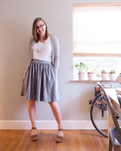 """A recap on my first week of Me-Made May 2016; a month of wearing at least 1 """"me-made"""" item per day! #mmmay16 #memademay #ootd #sewing"""