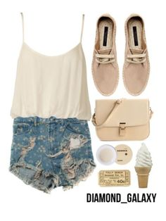 Cute outfit for summer.
