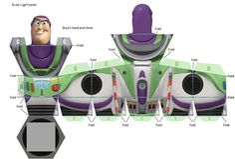 bela e a fera 3d papercraft - Pesquisa Google Toy Story Crafts, Toy Story 3, Toy Story Party, Toy Story Birthday, Birthday Ideas, Disfraz Buzz Lightyear, Toys For Girls, Kids Toys, Paper Toys