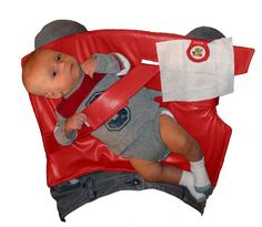 Red Nifty Swifty Snap  Standing Diaper Changer by SwiftySnap, $39.95