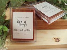 Hazelnut Coffee Scented 100% Soy Wax Melt - Maximum Scented on Etsy, $2.95