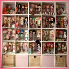 from Lollygomez's collection of Blythe dolls
