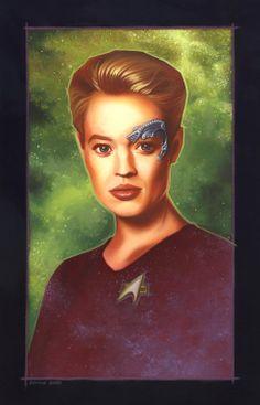 Star Trek Voyager Seven of Nine by dennisbudd on Etsy, $600.00