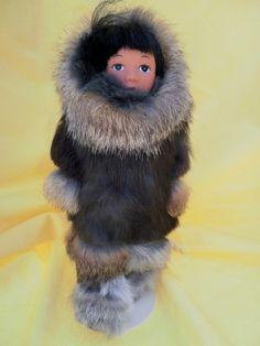 Vintage - Eskimo Doll
