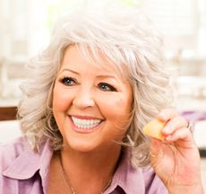 Paula Dean....I absolutely LOVE and adore this woman!!! I want to not only make a meal with her but sit down and eat our meal together!!