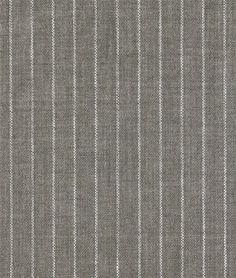 Gray Pinstripe Chambray Linen Fabric - $25.2 | onlinefabricstore.net