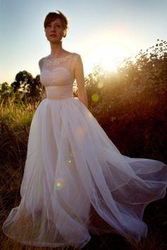 60's Vintage Wedding Dress - Wedding Inspirations