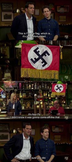 Always Reich-ing in Philadelphia Funny Quotes, Funny Memes, Hilarious, It's Always Sunny Quotes, Best Tv Shows, Favorite Tv Shows, Sunny In Philadelphia, Gambling Quotes, Children Images