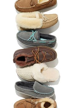 There's only one place to find the finest shearling on earth - in our legendary Wicked Good Slippers.