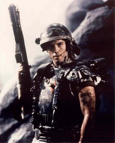 My main man. Another Michael Biehn. Corporal Hicks. He was my dreamboat growing up. Aliens = favorite movie ever