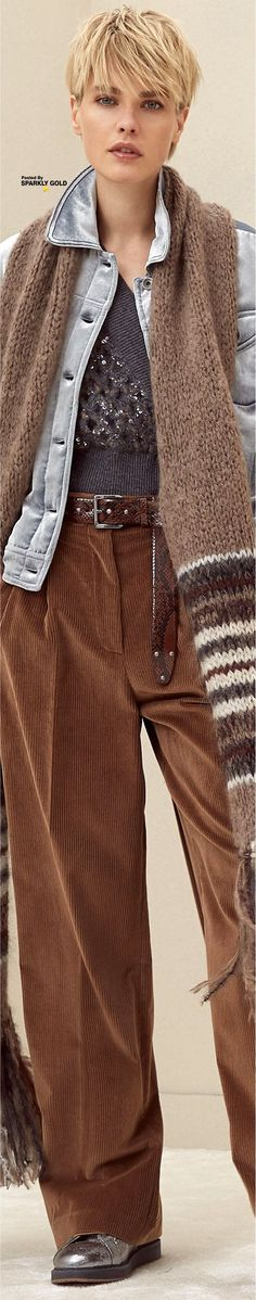 Brunello Cucinelli Fall 2018 RTW