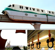 This is the coolest c-train ever :-) Tokyo Disneyland — As seen on Sparklette.net